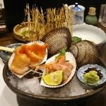 丸十寿司 - 赤貝