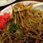 西山軒 - 料理写真:焼きそば大盛り600円