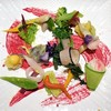 "Itou - 料理写真:京都地野菜の一皿""土の中""ビーツのエッセンス"