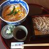 蕎麦や 銀次郎 - 料理写真:かつ丼セット=1080円 (ざるそば 小)