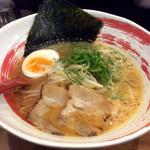 のだ麺 ~縁~ - 「ピリ辛味噌ラーメン」(820円)。
