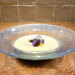 いとう - 静原産さつまいものスープ、コリンキーと冬瓜