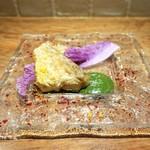 いとう - 甘鯛のポワレ 軽く煮込んだ白菜と共に