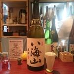 立寄処 桜子 - 八海山 純米吟醸 八海醸造(新潟)