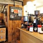 パドラーズコーヒー - 店内