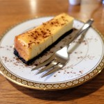 深煎自家焙煎珈琲 星霜珈琲店 - チーズケーキ