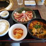 安楽亭 - 料理写真:ファミリーカルビSPランチ