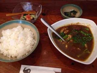 brochette Namioka - 名古屋コーチンスープカレー