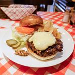 アイコウシャ - 料理写真:マッシュルームハンバーガー!