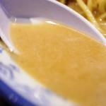 井手ちゃんぽん - スープ