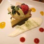 オーガニカ - 手作りチーズケーキ500円