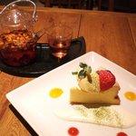 オーガニカ - チーズケーキセット800円
