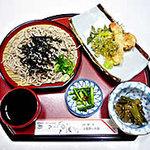 割烹旅館 丸新 - 日本そば、天ぷらセット