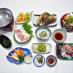 割烹旅館 丸新 - 宿泊料理