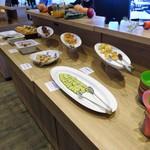 STEAK&HAMBURG EL FUEGO ENOSHIMA - 前菜ブース