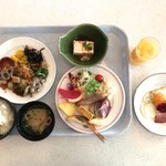 レストラン・バナナビーチ - 朝食バイキング 1500円(税込)‥‥宿泊料に込み