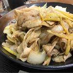 Kashiwaya - 豚肉生姜焼き定食850円