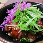 金澤屋牛肉店 - ステーキ丼 アップ