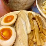 つけ麺 素家 - 特製つけ麺(1,050円)