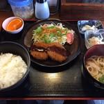 さぬきうどん 藤の家 - 日替わり定食(600円)