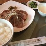 伊達の牛たん本舗 - 通定食(960円)