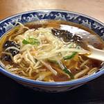 天弘 - 「豆芽麺(モヤシそば)」730円(横)