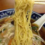 天弘 - 「豆芽麺(モヤシそば)」730円(麺)