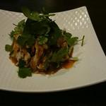 中華あんかけ工房 東陽閣 - 蒸し鶏ピリ辛ソース