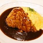RICH BURGER FACTORY - 料理写真:コトコト煮込んだオムハヤシ