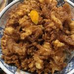 天茂 - じんわりタレの染み込んだかき揚げ丼