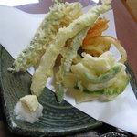 6238074 - 自家製野菜の天ぷら