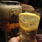 海峡 - 生ビールとリンゴのハイボール