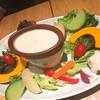 N_7110 - 料理写真:契約農家の新鮮野菜のバーニャカウダ