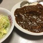 大龍飯店 - 中華屋さんのカツカレー(¥800)