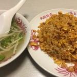 大龍飯店 - キムチ焼飯(ハーフ)(¥550)