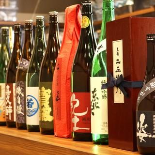こだわりの日本酒30種類