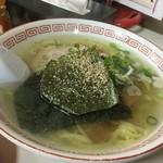 丸嶋 - 塩ラーメン 手打ち麺(650円)