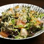 和のごちそう 暖丸 - 暖丸海鮮サラダ