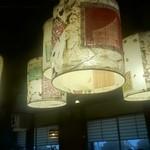 佐賀 - 6人用大テーブル上の照明