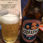 ダバ インディア - ゴッドファーザービール