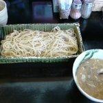 麺創 喝采 - もりそば(中)750円 300g