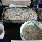 麺創 喝采 - 味玉もりそば(中)850円400g