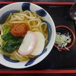 本丸茶屋 - 北條うどん 800円(税別)