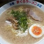 元祖まぐろラーメン 本店 - 醤油ラーメン¥800+大盛¥100