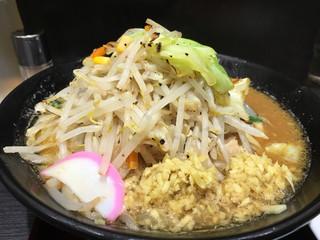 トナリ 東京駅東京ラーメンストリート店 - 味噌タンメン+しょうが増し