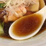 中華蕎麦 はる - 無化調スープ