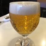 みぼうじんカレー - 生ビール(500円)