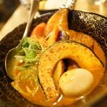奥芝ール - チキンアフミカートカリーの宴