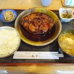 62396979 - マグロ円盤煮付定食