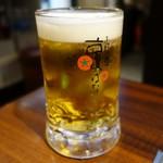 京ちゃばな - (2017/1月)生中ビール